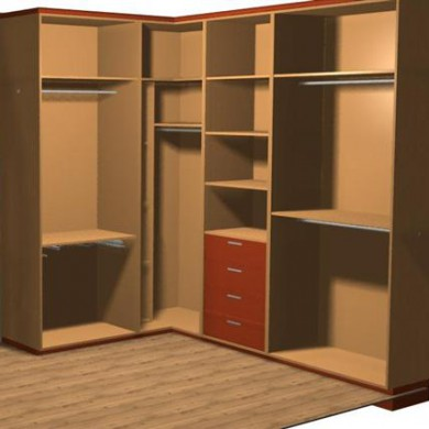 Carpinteria bhita armarios y vestidores dise os 3d - Programa diseno armarios ...